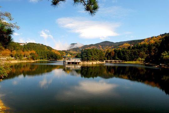 如琴湖(图:天池晓月)