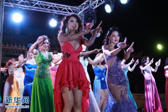 在蒙古国首都乌兰巴托