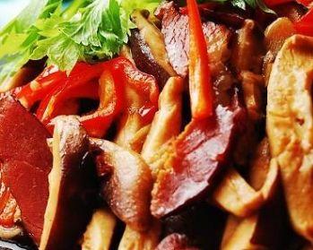 薇菜烧腊肉