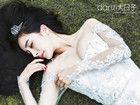 杨幂最新甜美婚纱照曝光 大秀美胸露半球性感凸现