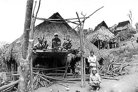 原始部落生活
