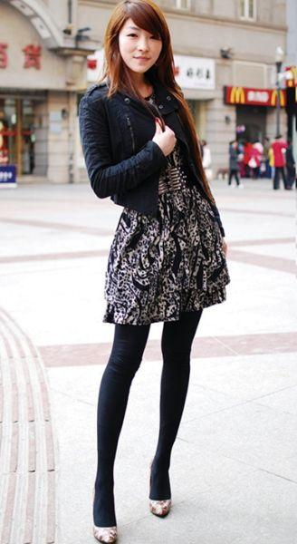 江汉路步行街 美女常出没