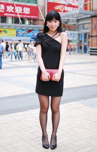 万达广场经常见各色白富美