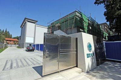 ▲武汉供电公司宗关220千伏变电站。