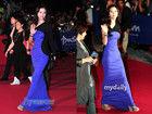 釜山电影节星光绽放 众女星大尺度礼服比拼性感身材
