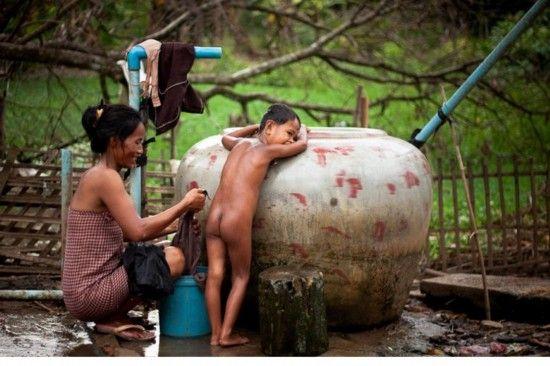 实拍柬埔寨国王生前老百姓的真实生活