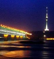50年代的长江大桥
