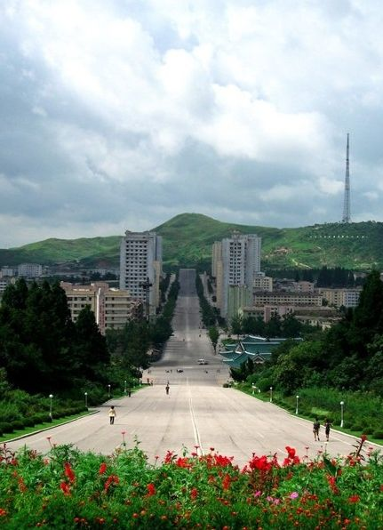 实拍朝鲜开城 竟然也有让人意想不到的美丽景观