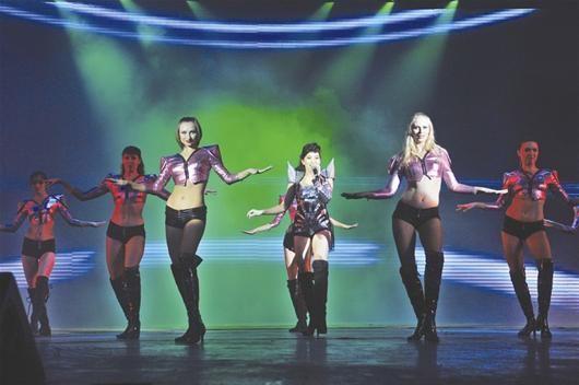 俄罗斯舞蹈团演出照