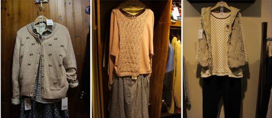 店内日系服饰