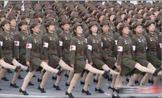 朝鲜的女战士