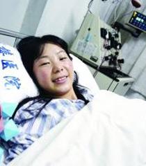 90后女孩为白血病少女捐干细胞