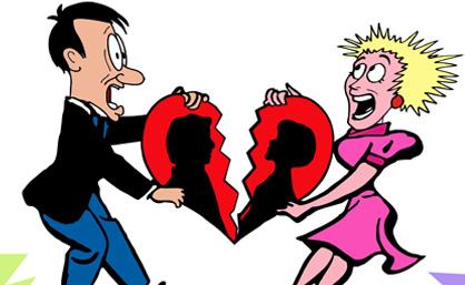 盘点那些匪夷所思的离婚理由