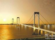 泰州长江大桥通车后泰州一小时可到镇江