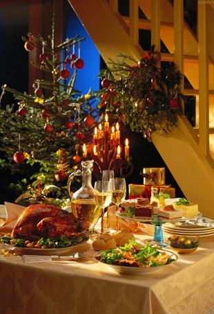 圣诞平安夜自助餐会