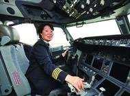 深航在江苏唯一女机长已飞行30年(图)