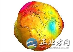 地球素颜照遭网友吐槽 像地瓜像备用轮胎像石榴