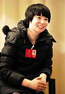 胡丹:最年轻的省人大代表