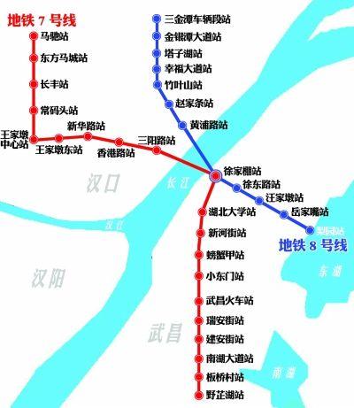 武汉地铁7、8号线