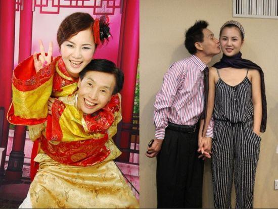 影视大鳄邓建国今年52岁,而其女友黄梓琪年仅19岁。