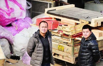 郭将和阮浩,80后破烂王,卖破烂卖出了新意和商机。记者李子云 摄