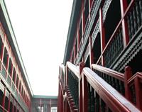 参  观老道外建筑