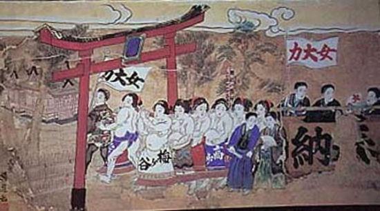 日本女子相扑文化