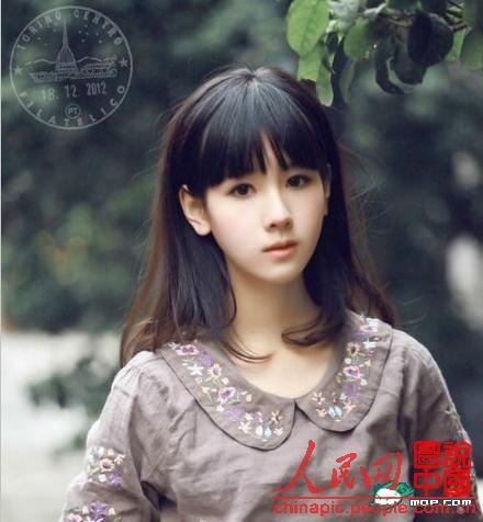 陈都灵秒杀奶茶妹妹 成中国第一校花
