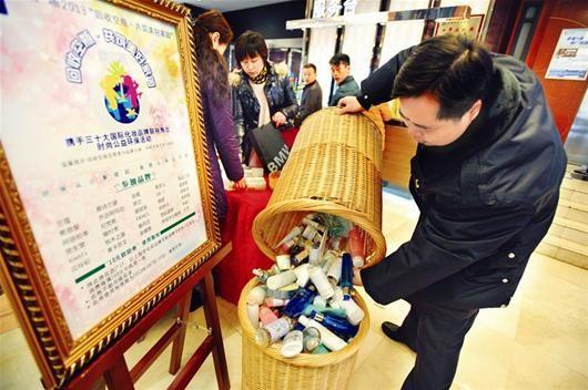 武汉化妆品专柜吹起环保风