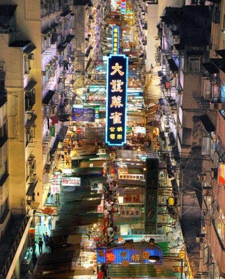 香港庙街最接地气儿的巷弄