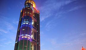 """筹资30亿建高328米""""黄金酒店"""""""