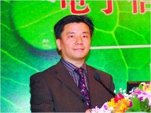 案发前,中国电子报社原副总编辑常林锋主持发布活动。资料图片
