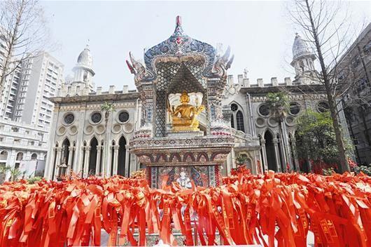 中国唯一仿缅甸阿难陀寺样式的佛教建筑