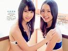 日本少女团体HKT48萌妹子运动系列内衣小露蛮腰