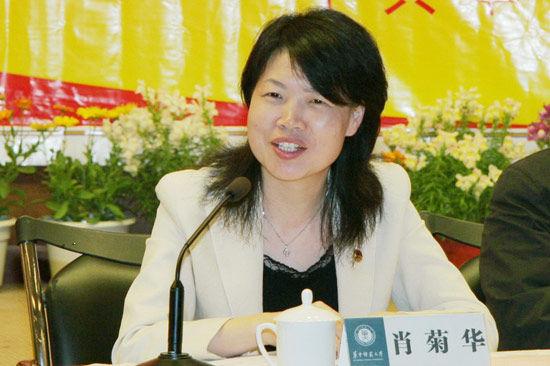 肖菊华(资料图)