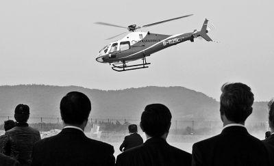 图为江西生产的SW-4直升机