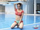 《中国星跳跃》刘雨欣秀豪乳 泳池边玩诱惑