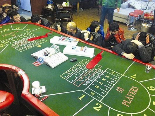 民警破拆12道铁门端掉这家赌场