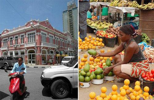 安哥拉的首都罗安达