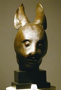 图为:兔首