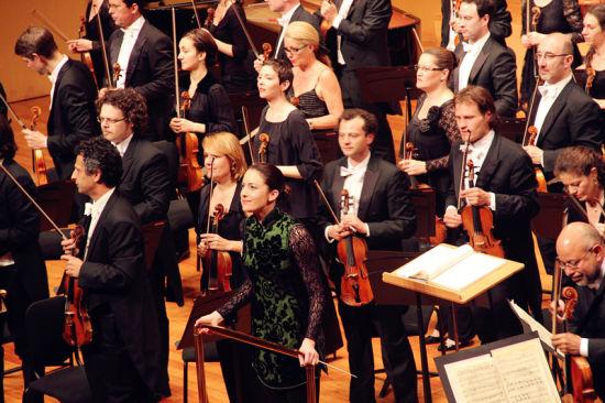 两头像v头像法国图卢兹管弦乐团古典音乐惊艳江可爱美女美女长发图片