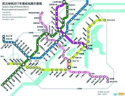 四新地铁图