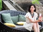 刘诗诗巴厘岛风情大片 浪漫惬意演绎风情万种