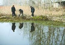 洪湖湖底发现古村落废墟 出水六朝至明清瓷器