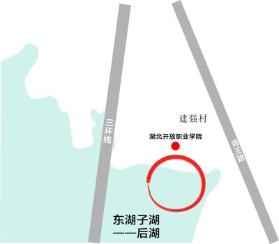 制图 刘岩 30亩水域方位图