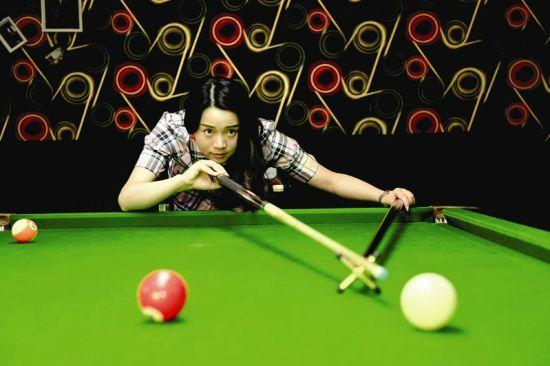 荆州桌球宝贝的五彩青春