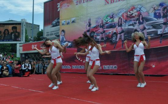 nba美女啦啦队激情热舞