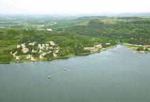 天泉湖鸟瞰