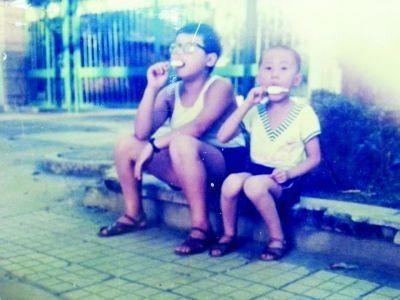 1987年,夏日午后的徐东街头