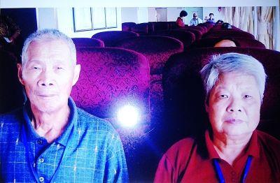 毛光华老人近照。见习记者贺亮 翻拍